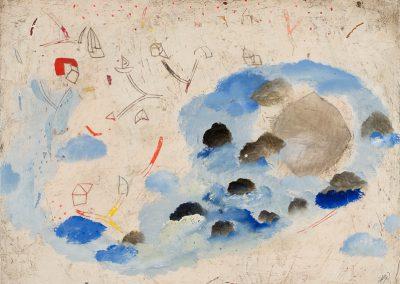 Ciel, roc, nuage, chemin - Série : Eléments/objets