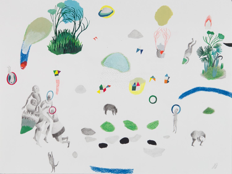 Série : Pièces à assembler Titre : végétal / animal / humain