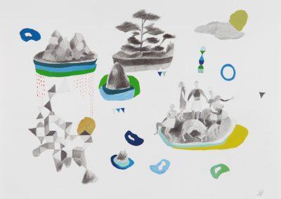 Série : Pièces à assembler Titre : végétal / animal / humai