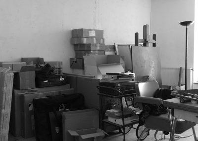 Déménagement de l'atelier