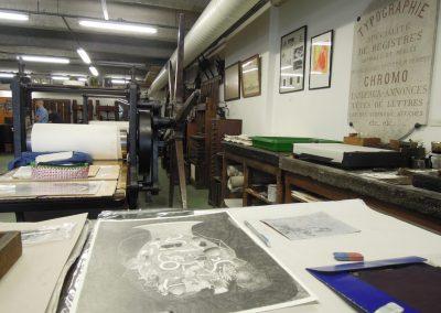 Au musée de l'imprimerie à Nantes