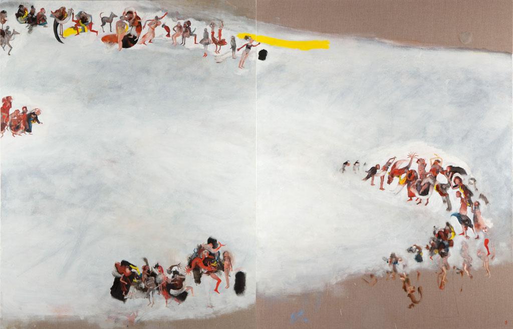 Série : migrations / Les territoires fluctuants, 1 - hélène duclos