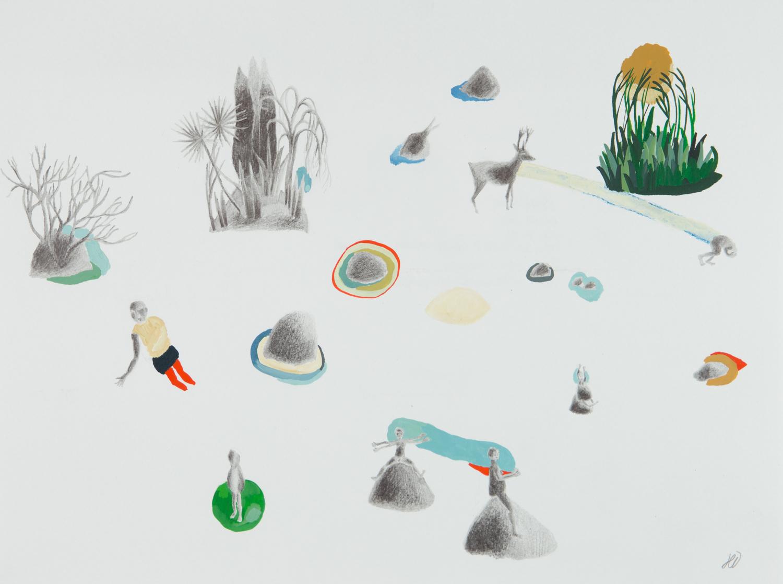 Série: Pièces à assembler Titre : végétal/animal/minéral/humain #1 -hélène duclos
