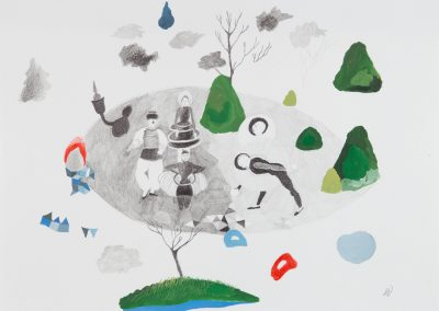Série : Pièces à assembler Titre : paysage / spectacle / ress