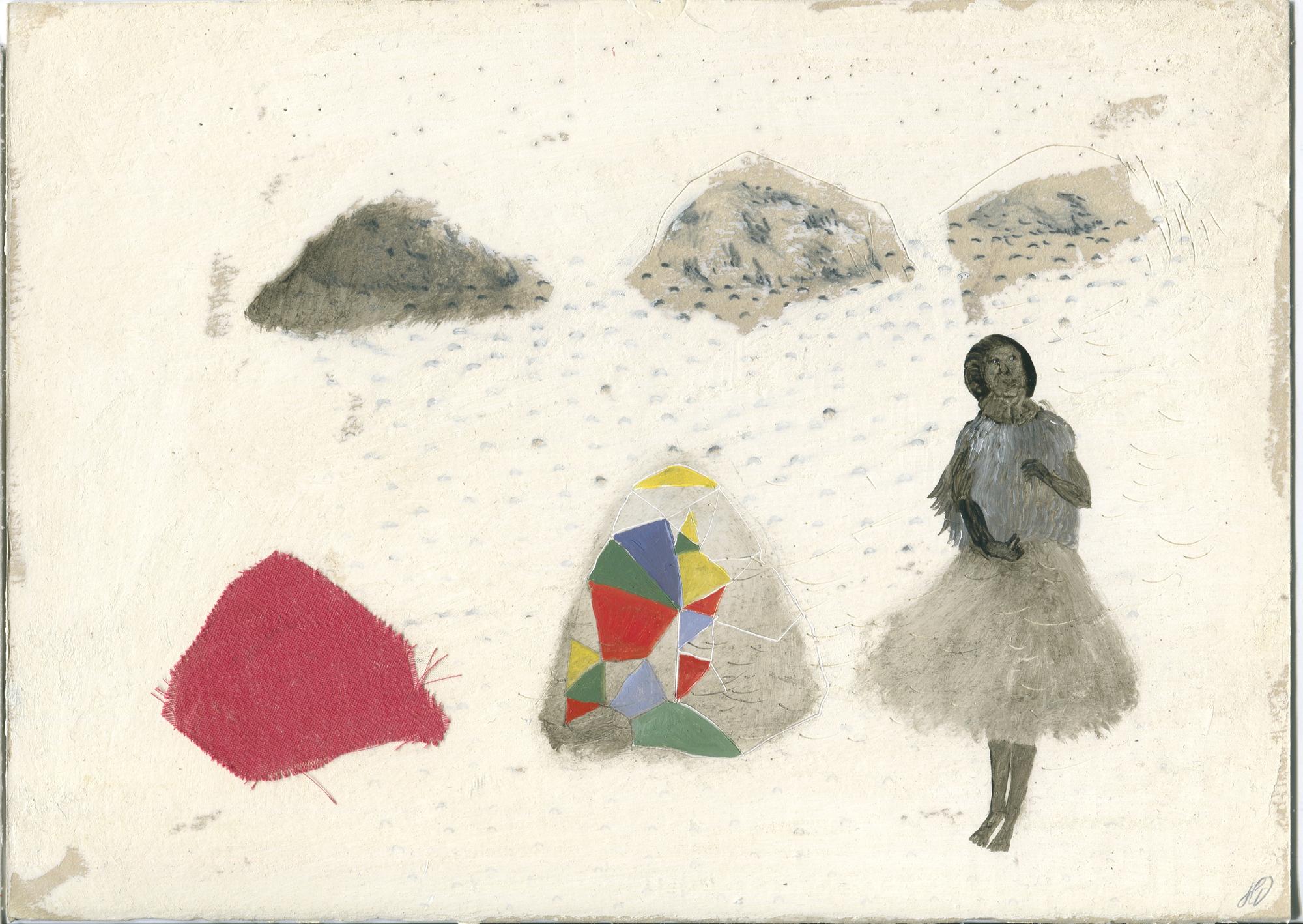 La femme aux multiples facettes - Série : dans le cœur, l'hiver - hélène duclos