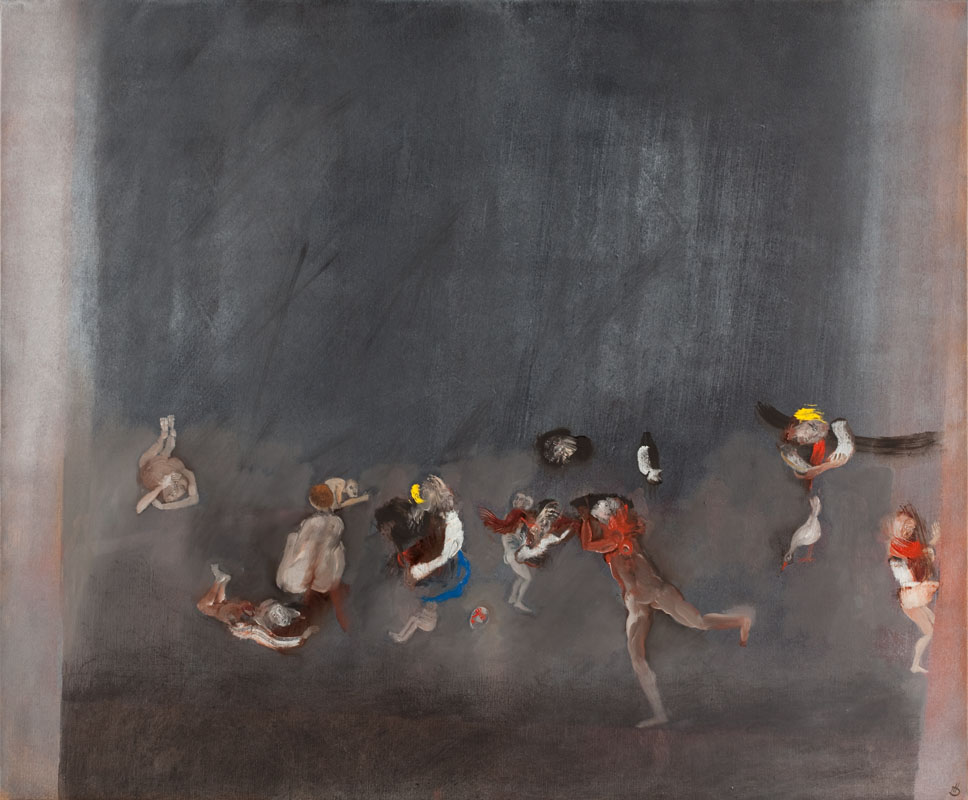 huile sur toile - Hélène Duclos