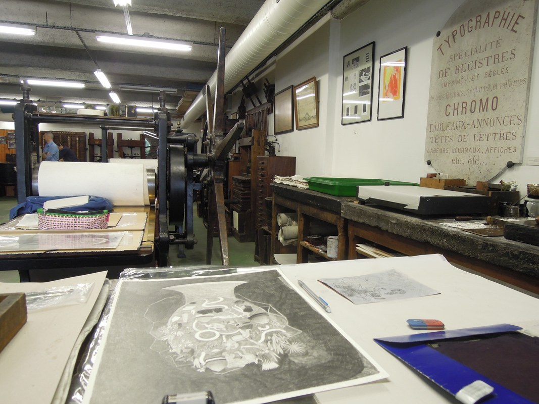 musée imprimerie - Hélène duclos