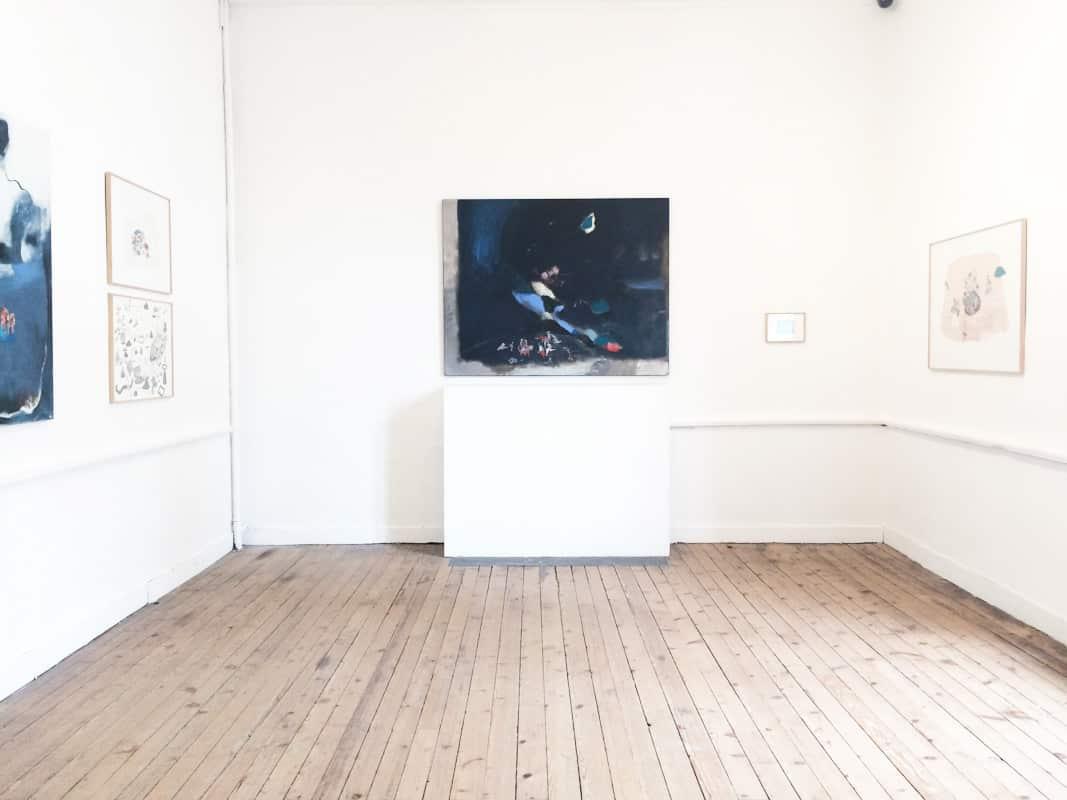 vue d'exposition - Hélène duclos