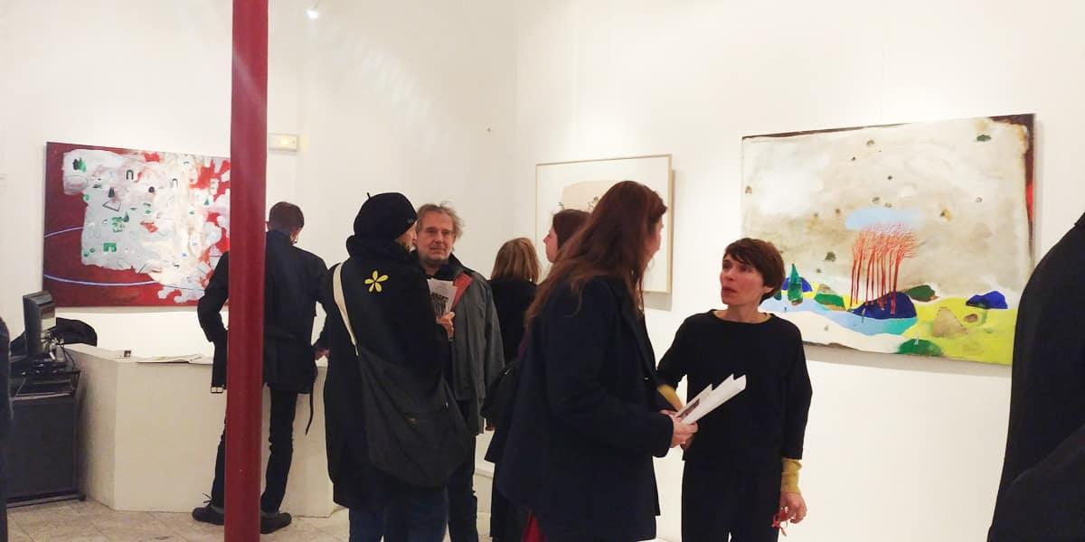 Vernissage Galerie Corcia janvier 2018