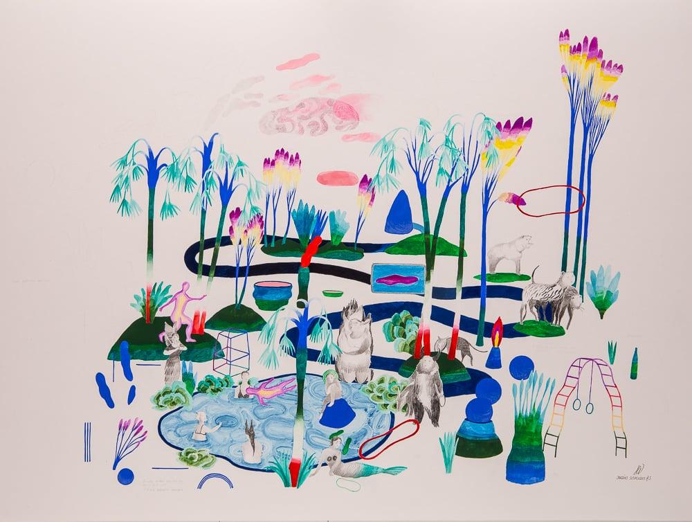 Jardins suspendus #3 - hélène duclos
