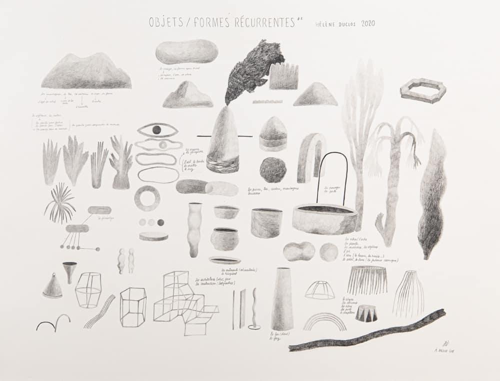 objets/formes récurrentes #1
