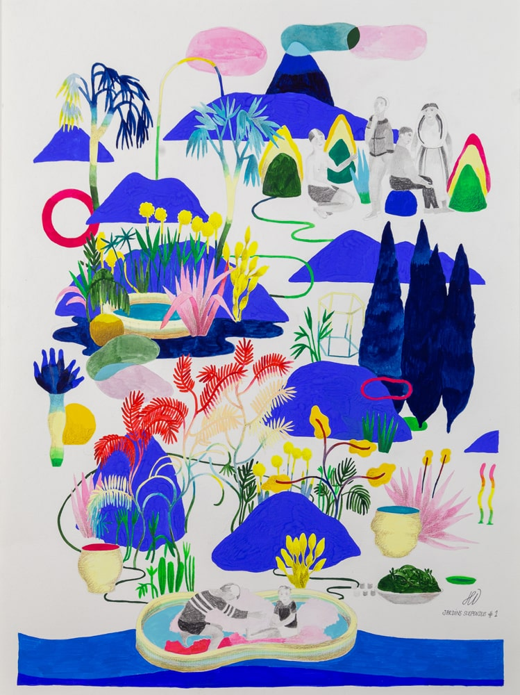 Jardins suspendus #1 - hélène Duclos