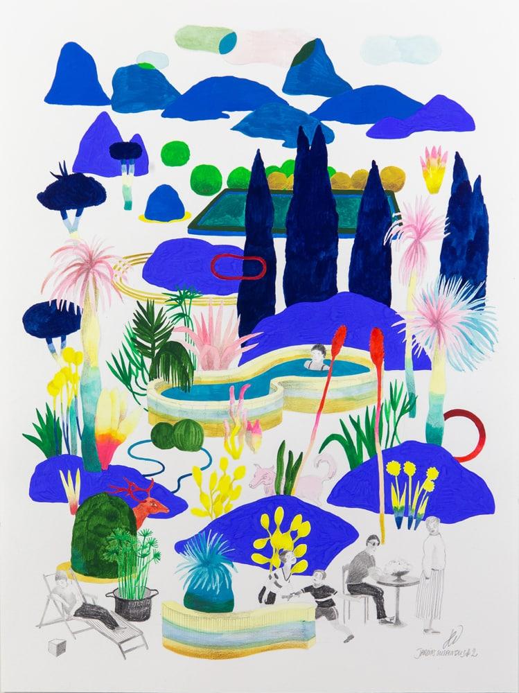 Jardins suspendus #2 - hélène duclos
