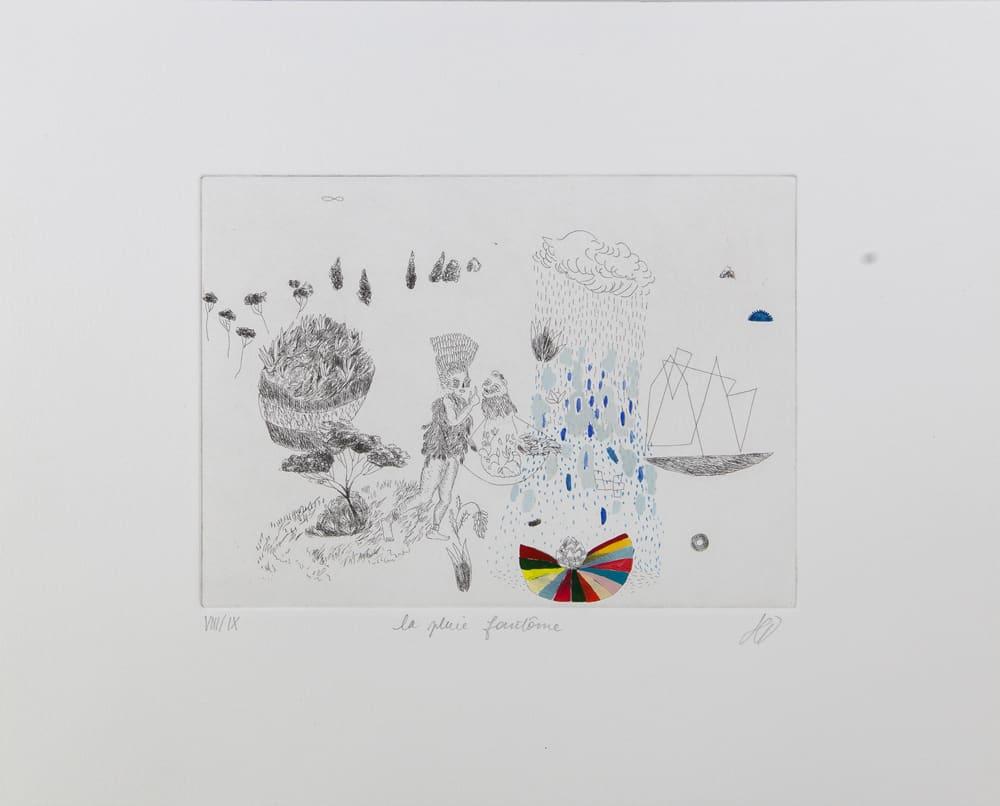 la pluie fantôme VII/IX - hélène Duclos