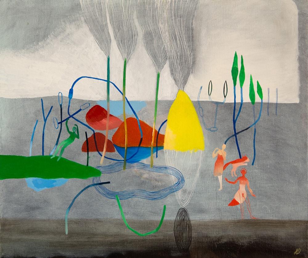 Paysage fragmenté #1 - Hélène Duclos