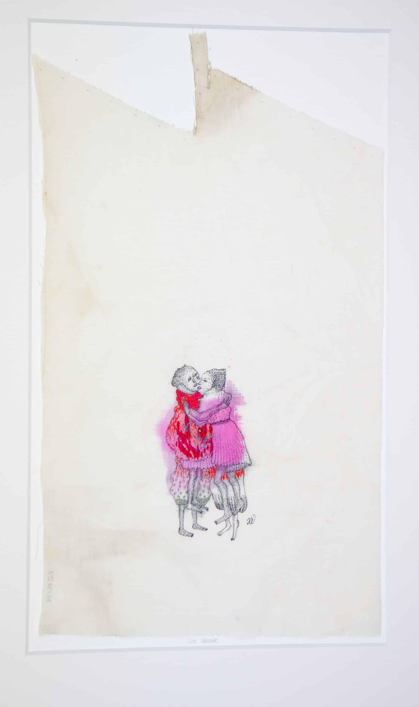 art textile - une danse - hélène duclos