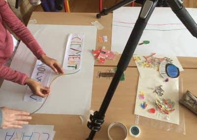 Atelier Je marche avec toi - film d'animation - CCChateaubriant-Derval