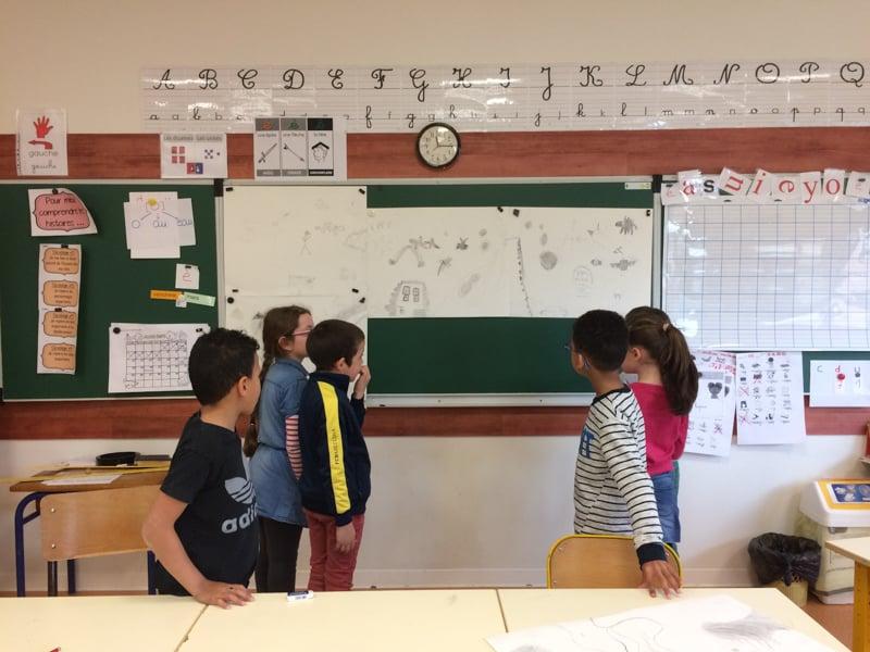 Ecole de La tilleulière - Loire-Atlantique- mars 2018 - Hélène Duclos