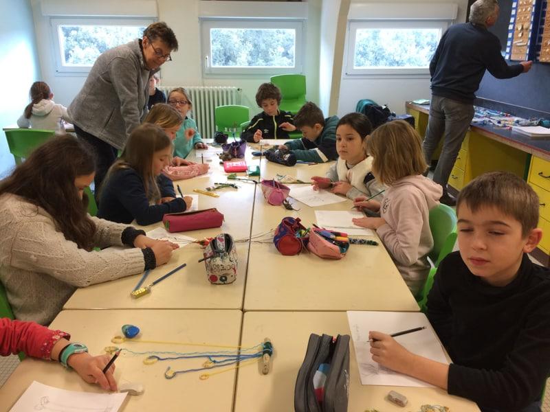 Centre la Marjolaine - Loire-Atlantique- classe de CM1-CM2- janvier 2020 - Hélène Duclos